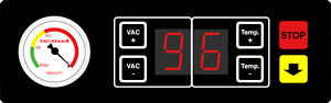Vakuummaschinen-Steuerung Vac-Star DBV